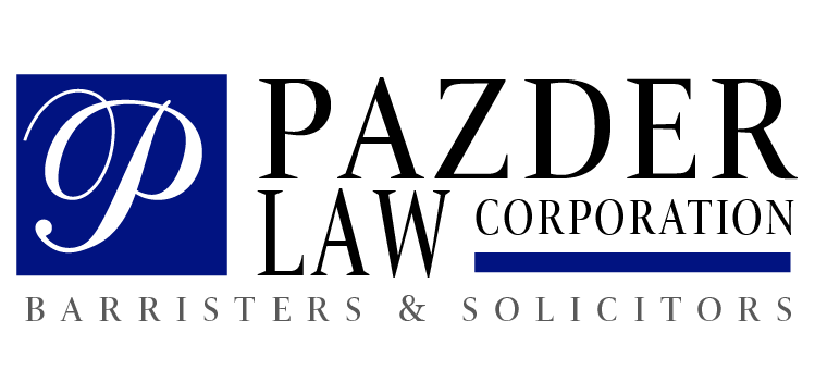 Pazder Law Corporation Logo