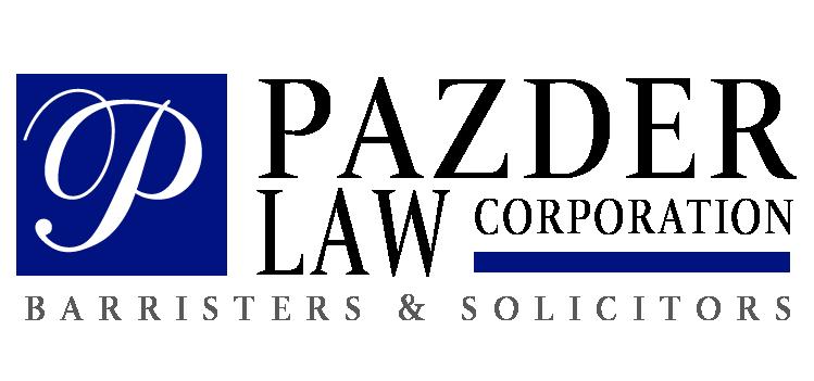 Pazder Law Corporation Logo